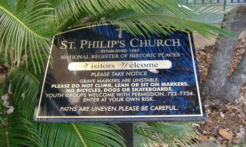 St. Philips Episcopal Church Cemetery
